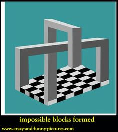 3D Optical illusions: impossible blocks formed. 3D Optical illusions are those visual illusions in which keep lots of brain functioning is tested.