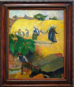 Haymaking - Paul Gauguin