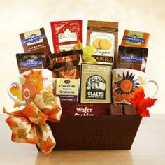 usa Gift Baskets - Fall Ghirardelli Chocolate and Cocoa