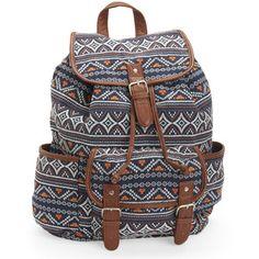 Aeropostale Cape Juby Textured Boho Backpack