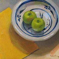 """Primarily Apples"" - Original Fine Art for Sale - © Sarah Sedwick"