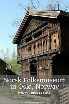 Norsk Folkemuseum - a picturesque open-air museum you must see when visiting Oslo! http://awomanafoot.com