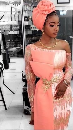 Africa fashion which looks gorgeous. Aso Ebi Lace Styles, African Lace Styles, Lace Dress Styles, African Lace Dresses, Latest African Fashion Dresses, Nigerian Fashion, Nigerian Lace Styles Dress, Nigerian Dress, African Style