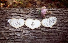 Banner- Perfect Chair Signs or Photo Props Wedding Decorations, Wedding Ideas, Hand Engraving, Photo Props, Rustic Wedding, Banner, Signs, Chair, Unique Jewelry