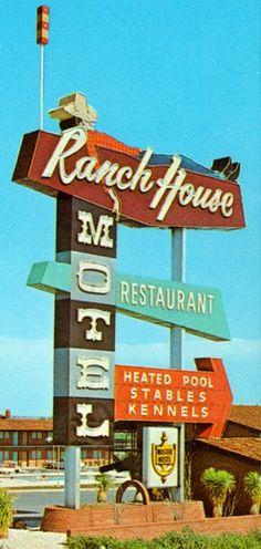 Ranch House Motel - Neat Stuff Blog: Vintage Motels (Part 2)