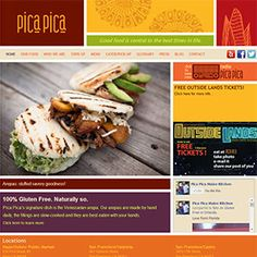 Pica Pica | Good food is central to the best times in life  Arepa Beef Pabellon