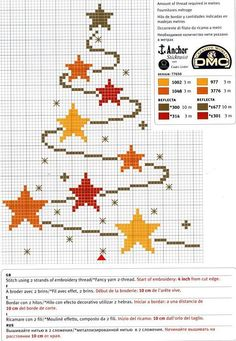 Cross-stitch Star & Swirl Christmas Tree                                                                                                                                                                                 Mehr