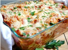 Everyone is loving this Baked Spaghetti with Sausage! It's budget-friendly and so easy to make!