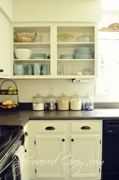 "stunning ""before & after"" diy kitchen remodel for under $500"