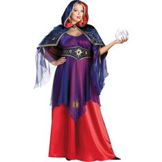 adult elite plus size mystical sorceress costume halloween city - Mystical Halloween Costumes