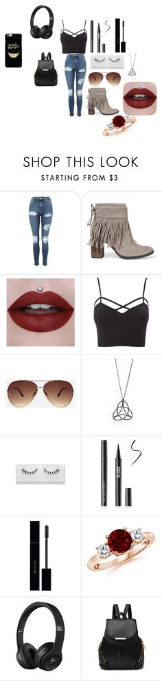 """""""Untitled #76"""" by elisenall on Polyvore featuring Topshop, Schutz, Charlotte Russe, Ashley Stewart, Gucci and plus size clothing"""