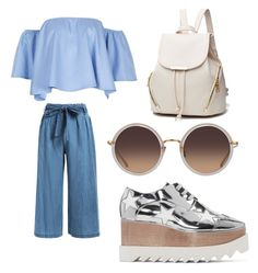 """""""#21"""" by bolobolormaa ❤ liked on Polyvore featuring STELLA McCARTNEY and Linda Farrow"""
