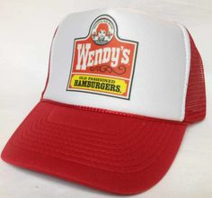 Wendy's Trucker Hat mesh back hat - 2014 New Arrivals Trucker Hats and Hats