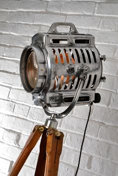 Arri Vintage Theatre Tripod Light by Artifact – We collect similar ones – Only/Once – www.onlyonceshop.com