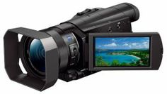 Cameras & Lenses :: Sony Cameras :: Sony Video Cameras :: Sony Handycam FDR-AX100 Video Camcorder. 4K at an affordable price! Gates housing out soon.