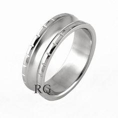 Unisex snubní prsten Silvego z chirurgické oceli SSK11 velikost 50