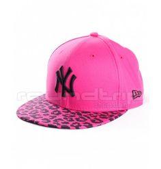f59c6c1750b3d Gorra New Era Spring Leopard NY Yankees 99FIFTY Cap rosa negro