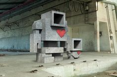 Lovebot – The Love Robot Invasion via Wooster Collective. The Robot Love Invasion aims to illuminate the love, kindness and compassion that exists in Toronto and to help inspire it all around…
