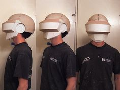 Volpin Props: Daft Punk Helmet (Thomas): Part 1