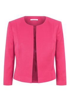 and Coat Wedding Outfits Matching Dresses & Jackets 2 Piece Suits Fenn Wright Manson Delphine JacketFenn Wright Manson Delphine Jacket Casual Blazer Women, Blazers For Women, Blouses For Women, Trajes Business Casual, Look Blazer, Womens Dress Suits, Cropped Blazer, Jacket Dress, Pink Jacket