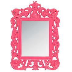 Inart 3-95-111-0004 καθρέπτης τοίχου φούξια 32x44 - Προϊόντα Mirror, Frame, Furniture, Home Decor, Picture Frame, Decoration Home, Room Decor, Mirrors, Home Furnishings