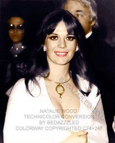 NATALIE WOOD TECHNICOLOR CONVERSION BY BEDAZZZLED FROM B/W PRINT