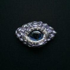 Icy Lavender Dragon Eye Magnet by LunaPetals on Etsy https://www.etsy.com/listing/237490906/icy-lavender-dragon-eye-magnet