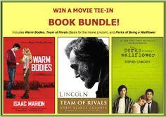 Penniless Teacher: Simon & Schuster Win a Movie Tie-In Book Bundle
