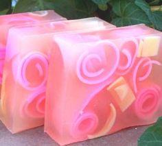 Plumeria Handmade Soap floral tropical frangipani by CoquetteBath
