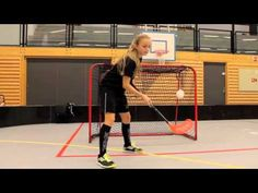Floorball Tricks - YouTube