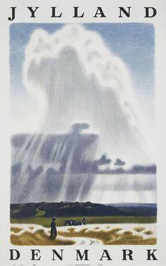 Aage Sikker Hansen (1897-1955) - Jutland, Denmark. Sikker Hansen was a very popular illustrator working mid-century in Denmark.