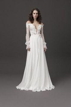 Daalarna Couture Bridal Spring 2020 Fashion Show – Sponsored – Wedding dress fashion Wedding Dress Styles, Bridal Dresses, Wedding Gowns, Couture Collection, Bridal Collection, Bridal Elegance, Fashion Lighting, Dress Picture, Vogue Paris