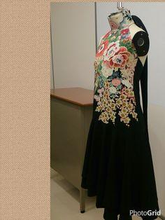 留め袖~カクテルドレス