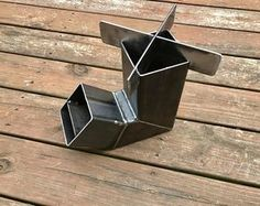 Self Feeding Rocket Stove With Removable Top Camping Stove Wood Stove Emergency Stove Survival Portable
