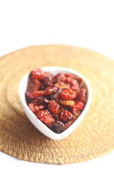 Sundried Cherry Tomatoes  http://albi.ro/conserve/rosii/rosii_uscate_1KG
