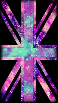 British galaxy flag iPhone/Android wallpaper I created for the app CocoPPa!!