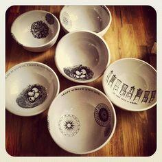 handmade thrown medium sized white bowl gift under by nelledesign, $35.50