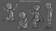 Andriana Laskari's Creative Corner - CG Arts and Animation: Transcription: Children's Body Language and Body Proportions