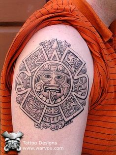 COM the art of Felix Pacheco Posted by warvox tattoos on Tagged: warvox tattoo aztec maya inca.olmec chicano tato felix pacheco tattoo flash mexico peru latin tattoos The post MAYAN CALENDAR appeared first on Tattoos. Aztec Warrior Tattoo, Aztec Tribal Tattoos, Aztec Tattoo Designs, Aztec Art, Tattoo Patterns, Aztec Designs, Chicano Tattoos, Body Art Tattoos, Sleeve Tattoos