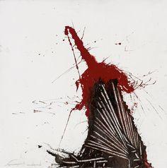 Thunderstruck (Emilio Scanavino (Italian, 1922-1986), Incidente....)