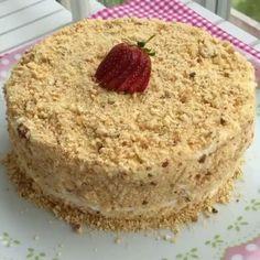 Medovik Pastasını soran Arkadaşlar için yeniden tarifi çok pratik mutlaka deneyin Ballı pasta