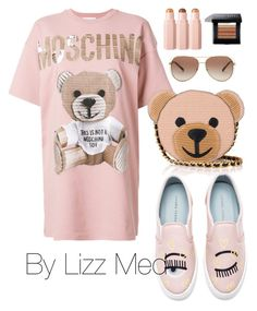 """Moschino"" by lizz-med on Polyvore featuring moda, Moschino, Chiara Ferragni, Michael Kors y Bobbi Brown Cosmetics"