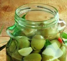 Olive verdi in salamoia - Cucina Naturale