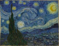The Starry Night, Vincent van Gogh (1889)