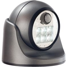 Light-it 100-lumen 6 Led Wireless Porch Light (charcoal)