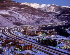I70 thru Vail.  I can see my old place in this picture!