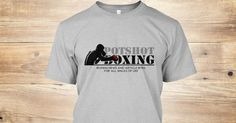 Check out Potshot Boxing's New Official Boxing T-Shirt! Own yours today! https://teespring.com/potshot-boxing-psb#pid=369&cid=6527&sid=front
