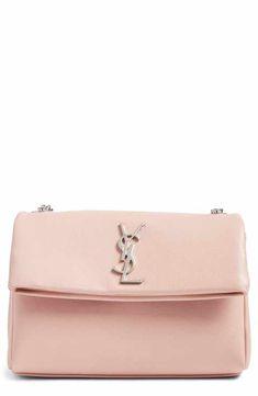 94723e866b5c Saint Laurent West Hollywood Calfskin Leather Messenger Bag Timeless  Fashion