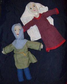 poupée médiévale. Medieval dolls