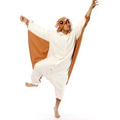 Flying Squirrel Kigurumi by Japanese Gift Market -- OBVIOUSLY I need one of these.